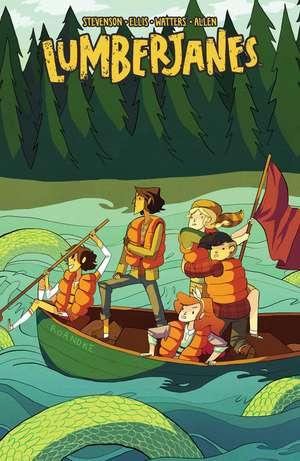 Lumberjanes Vol. 3: A Terrible Plan de Shannon Watters