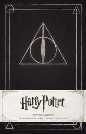 Harry Potter Deathly Hallows Hardcover Ruled Journal de Insight Editions