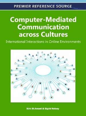 Computer-Mediated Communication Across Cultures de Sigrid Kelsey