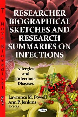 Researcher Biographical Sketches & Research Summaries on Infections