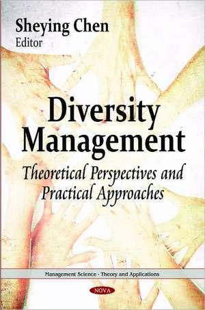 Diversity Management de SHEYING CHEN