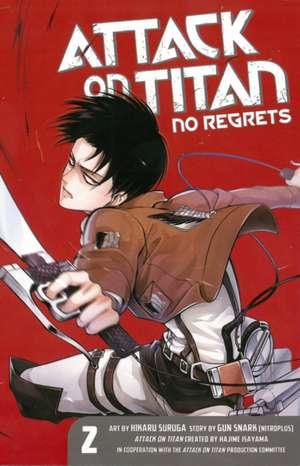 Attack On Titan: No Regrets 2 de Hajime Isayama