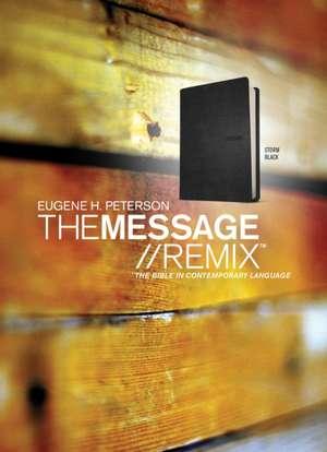 Message Remix-MS:  The Bible in Contemporary Language de Eugene H. Peterson