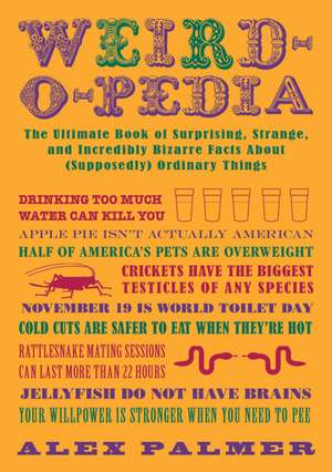 Weird-O-Pedia