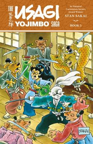 Usagi Yojimbo Saga Volume 5