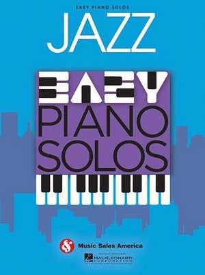 Jazz: Easy Piano Solos de  Hal Leonard Corp