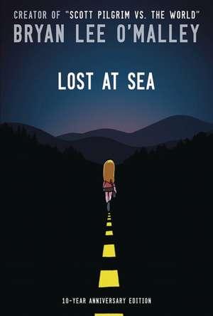 Lost at Sea Hardcover de Bryan Lee O'Malley