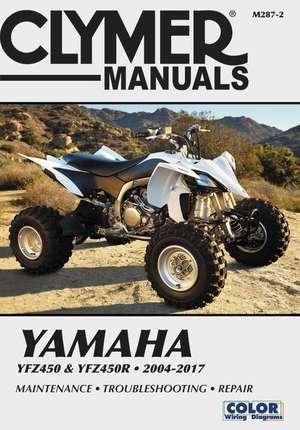 Yamaha Yfz450 & Yfz450r 2004-2017 de  Haynes Publishing