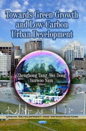 Towards Green Growth & Low-Carbon Urban Development imagine