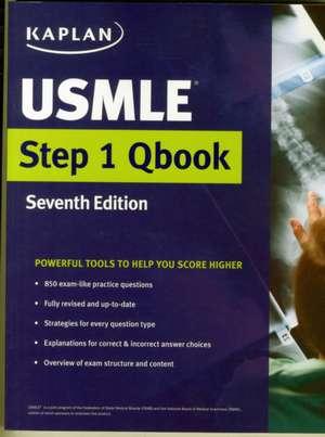 USMLE Step 1 Qbook de Kaplan Medical