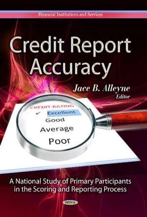 Credit Report Accuracy imagine