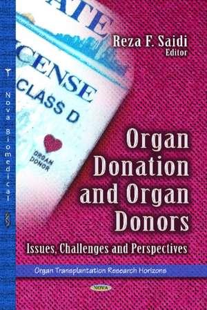 Organ Donation and Organ Donors