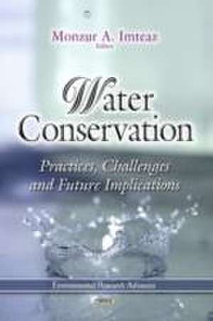 Water Conservation de Monzur A. Imteaz