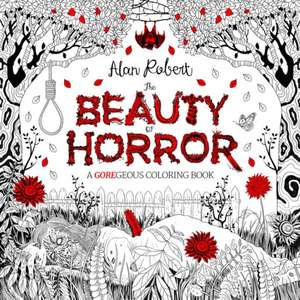 Beauty Of Horror A Goregeous Coloring Book