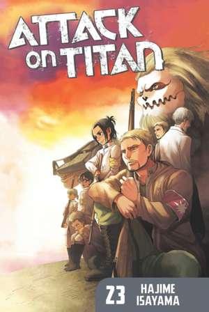 Attack On Titan 23 de Hajime Isayama