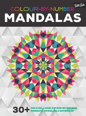 Colour-by-Number: Mandalas