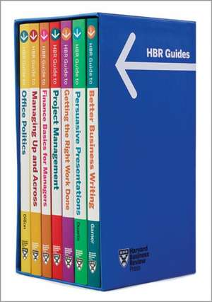 HBR Guides Boxed Set (7 Books) (HBR Guide Series) de Harvard Business Review