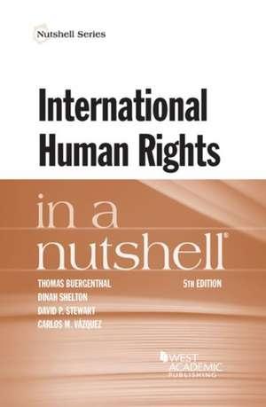 International Human Rights in a Nutshell de Thomas Buergenthal