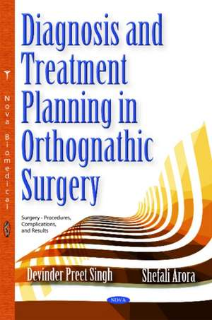 Diagnosis & Treatment Planning in Orthognathic Surgery