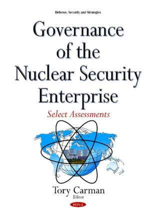 Governance of the Nuclear Security Enterprise imagine