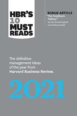 HBR's 10 Must Reads 2021 imagine