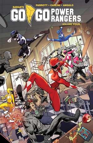 Saban's Go Go Power Rangers Vol. 4  de Ryan Parrott