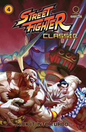 Street Fighter Classic Volume 4 de Ken Siu-Chong