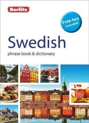 Berlitz Phrase Book & Dictionary Swedish de Berlitz