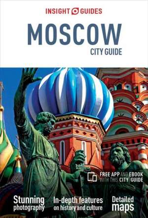 Insight Guides City Guide Moscow (Travel Guide with Free eBook) de  Insight Guides