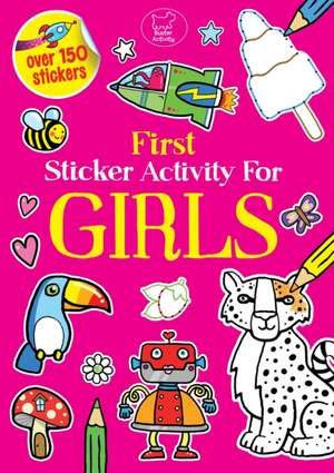 First Sticker Activity for Girls