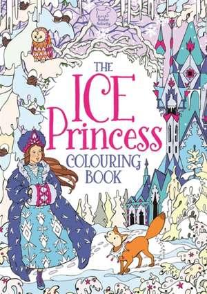 The Ice Princess Colouring Book