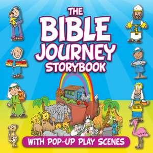 The Bible Journey Storybook:  With Pop-Up Play Scenes de Juliet David