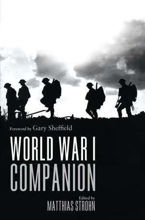 World War I Companion de Matthias Strohn