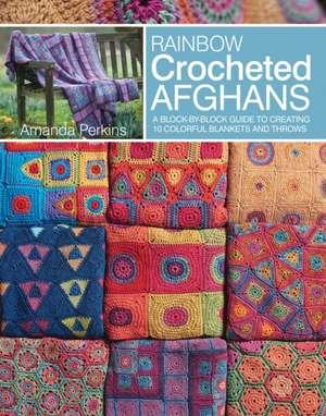 Rainbow Crocheted Afghans