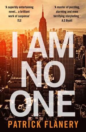 I Am No One de Patrick Flanery
