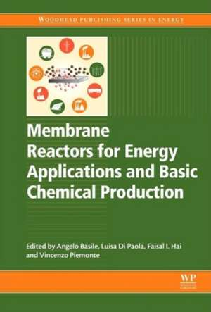 Membrane Reactors for Energy Applications and Basic Chemical Production de Angelo Basile