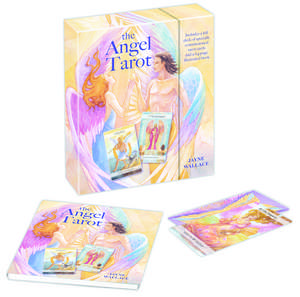 The Angel Tarot: Includes a full deck of 78 specially commissioned tarot cards and a 64-page illustrated book de Jayne Wallace