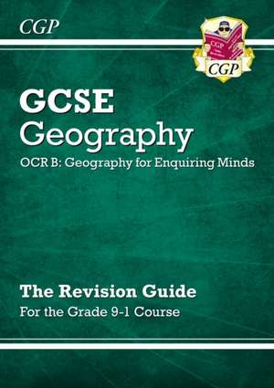 New Grade 9-1 GCSE Geography OCR B: Geography for Enquiring