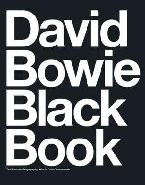 David Bowie Black Book de Barry Miles