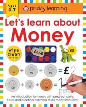 Wipe Clean Workbook Money de Roger Priddy