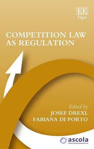 Competition Law as Regulation