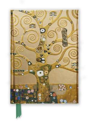 Klimt: Tree of Life (Foiled Journal) de Flame Tree Studio