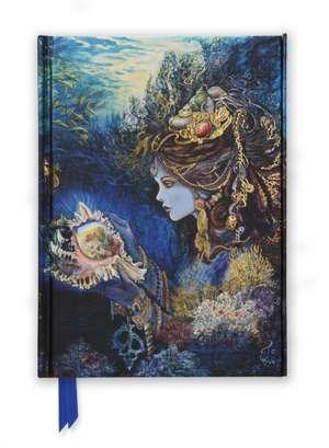 Josephine Wall: Daughter of the Deep (Foiled Journal) de Flame Tree Studio
