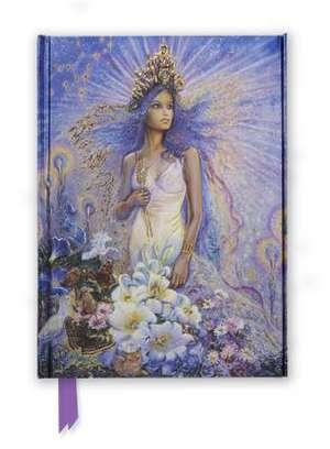 Josephine Wall: Virgo (Foiled Journal) de Flame Tree Studio