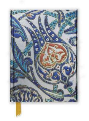 Fitzwilliam Museum: Iznik tile (Foiled Journal) de Flame Tree Studio