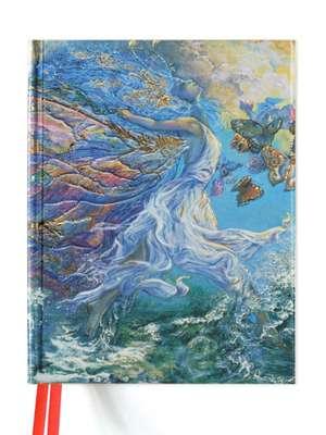 Josephine Wall: Joie de Vivre (Blank Sketch Book) de Flame Tree Studio