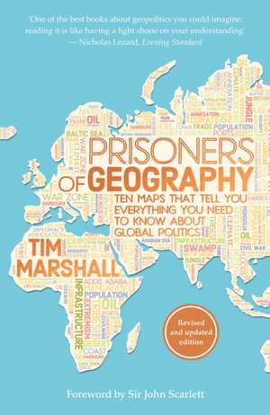 Prisoners of Geography de Tim Marshall