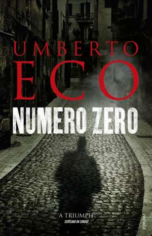 Numero Zero de Umberto Eco
