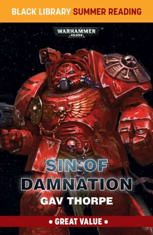 Sin of Damnation de Gav Thorpe