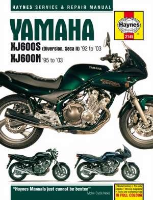 Yamaha XJ600S (Diversion, Seca II) And XJ600N Four de  Haynes Publishing